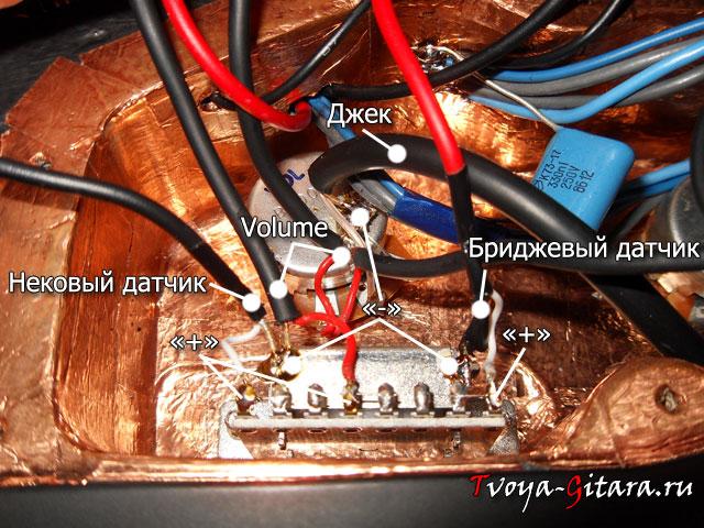 темброблока электрогитары