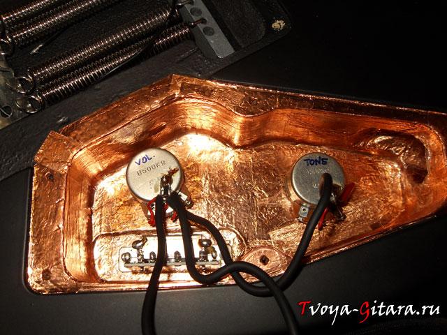 Распайка темброблока электрогитары (Часть 4)