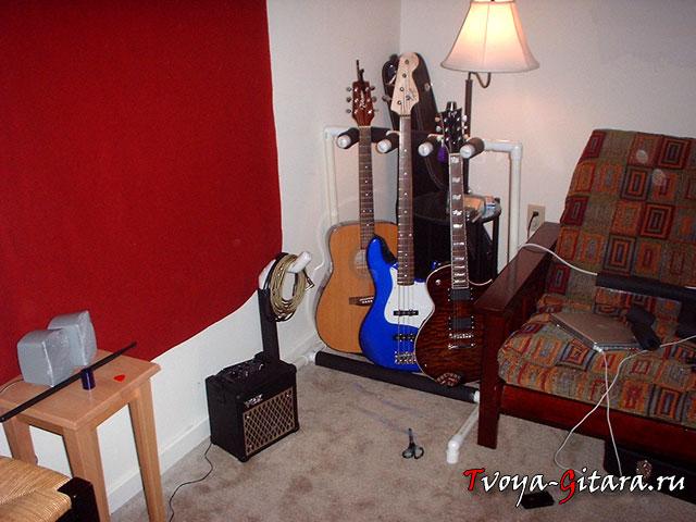 Как правильно хранить гитару дома?
