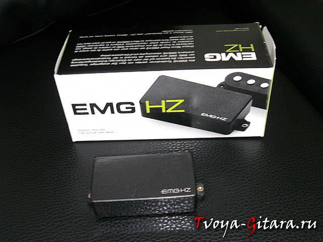 Обзор пассивного звукоснимателя EMG HZ-H3