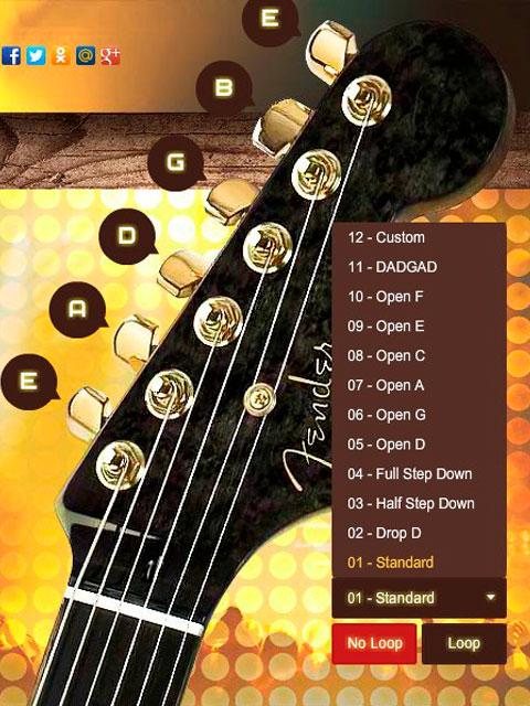 Не можете настроить гитару? Вам поможет онлайн тюнер для настройки гитары. Простой и удобный, с ним вы сможете за считанные минуты настроить вашу гитару.