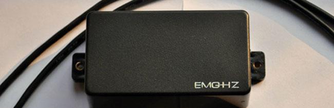 В этой небольшой статье будет рассмотрен пассивный звукосниматель EMG HZ-H3 производства США.