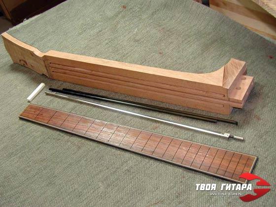 Анкерный стержень гитары