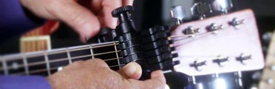 В этой статье вы познакомитесь с необычными видами каподастров для акустической гитары