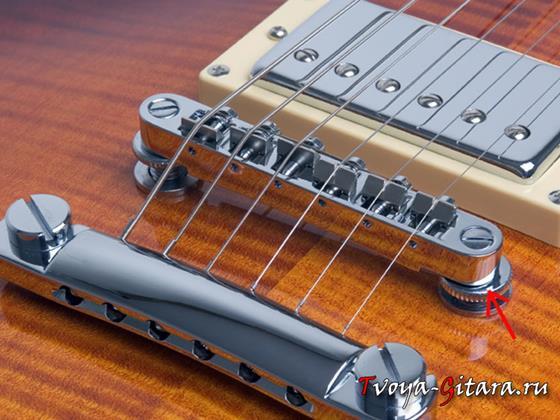 Регулировка бриджа и высоты струн над грифом гитары