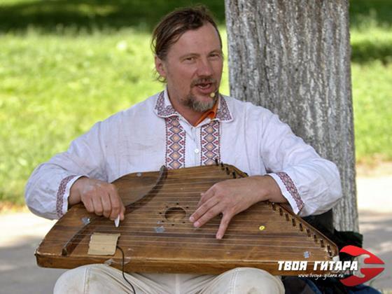 Музыкальный инструмент гусли